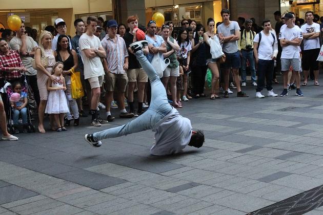 Fitness für Kinder beim Breakdance