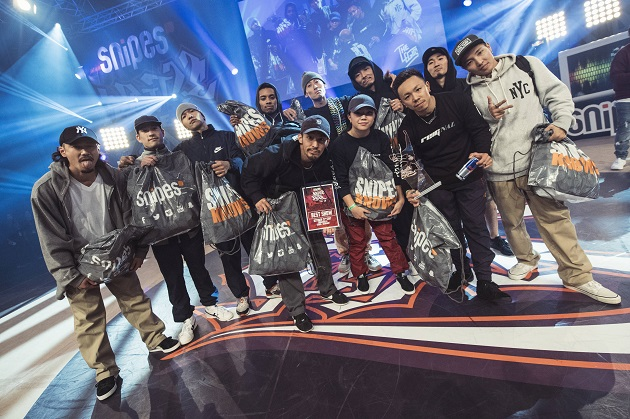 The Flooriorz Crew – BOTY Champion 2017