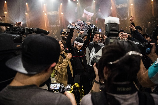 B-Boy Menno Champion beim Red Bull BC One 2017