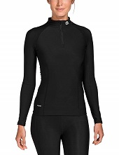 Skins Damen A200 Thermal Womens Long Sleeve Mck Neck W Zip