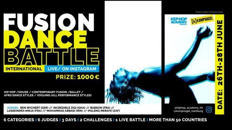 Weltweit erstes digitales Dance-Battle kommt aus Hamburg