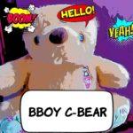 Bboy Contentbär C-Bear